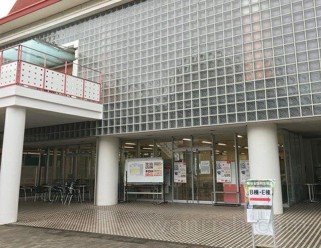 日本獣医生命科学大学の休憩スペース1