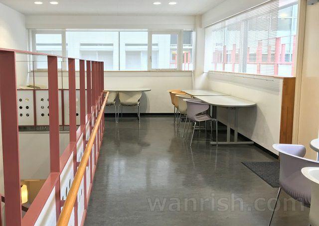 日本獣医生命科学大学の休憩スペース2