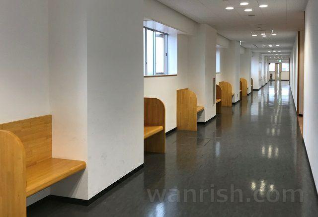 日本獣医生命科学大学の休憩スペース3
